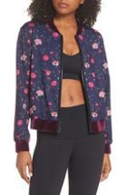Women's Splendid Bonded Hacci Cardigan - Pink