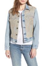 Women's Levi's Made & Crafted(tm) Boyfriend Denim Trucker Jacket - Blue
