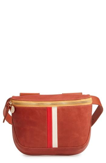 Clare V. Leather Fanny Pack - Brown