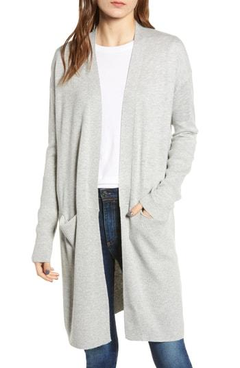 Women's Splendid Long Cardigan - Grey