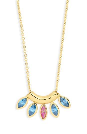 Women's Gorjana Rumi Burst Pendant Necklace