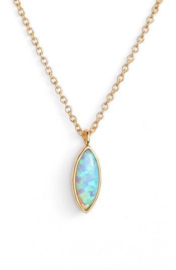 Women's Gorjana Rumi Opalite Adjustable Pendant Necklace