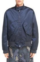 Men's Acne Studios Mito Shiny Bomber Jacket