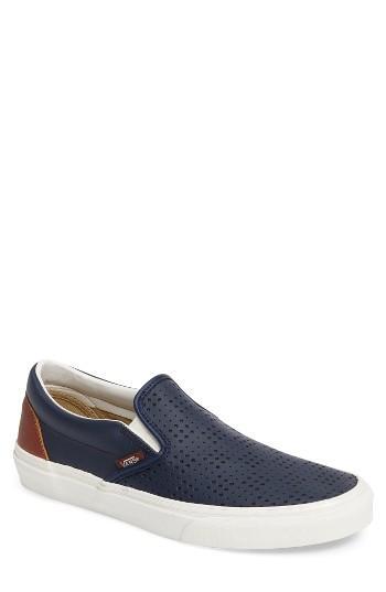 Men's Vans 'classic' Slip-on Sneaker .5 M - Blue