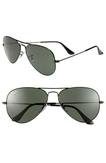 Women's Ray-ban 'original Aviator' 58mm Sunglasses