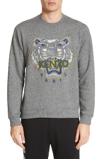 Men's Kenzo Tiger Sweatshirt - Grey