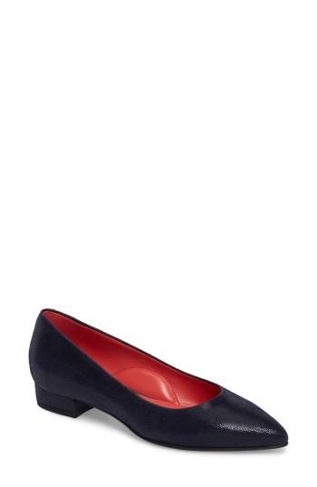 Women's Pas De Rouge Pointy Toe Low Pump Us / 35eu - Blue