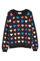 Women's Wildfox Have A Heart Sommers Sweatshirt - Black