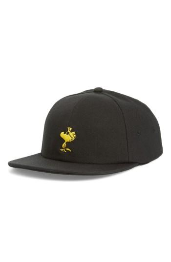 Men's Vans X Peanuts Ball Cap - Black