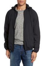 Men's Victorinox Swiss Army Hooded Wind Jacket - Black