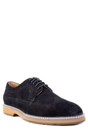Men's Zanzara Modigliani Wingtip Derby M - Black