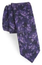 Men's The Tie Bar Floral Wool Tie