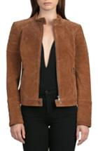 Women's Bagatelle Suede Moto Jacket