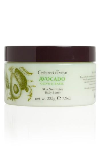 Crabtree & Evelyn 'avocado, Olive & Basil' Skin Nourishing Body Butter .9 Oz