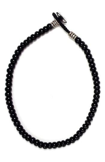 Men's Mikia Roundel Bead Bracelet