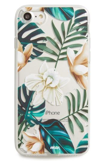Milkyway Floral Iphone 7 Case - Green