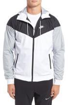 Men's Nike 'windrunner' Colorblock Jacket - White