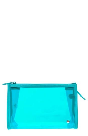 Stephanie Johnson Miami Medium Zip Closure Cosmetics Case, Size - Miami Blue