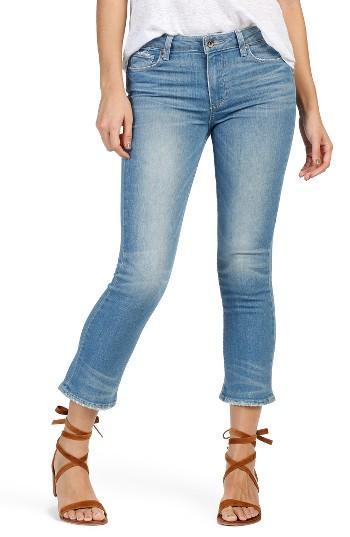 Women's Paige Jocelyn Crop Flare Jeans - Blue