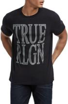Men's True Religion Crafted Chain Logo T-shirt, Size - Black