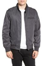 Men's Members Only Iconic Racer Jacket - Grey
