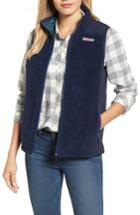 Women's Vineyard Vines Reversible Quilted Plaid Vest