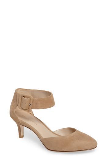 Women's Pelle Moda Ankle Strap Sandal M - Brown