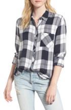 Women's Rails Hunter Plaid Shirt, Size - Purple