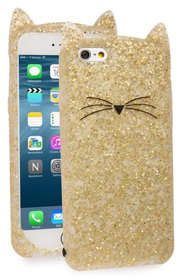 Kate Spade New York 'glitter Cat' Iphone 6 & 6s Case -