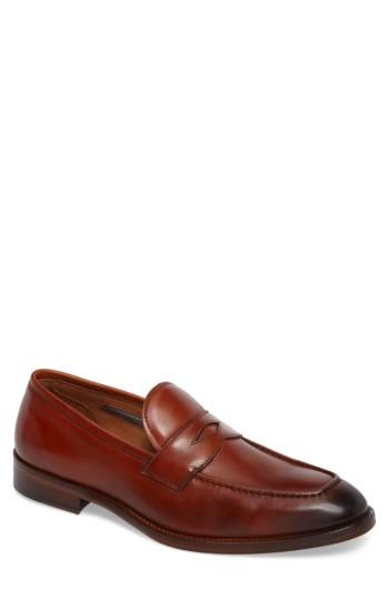 Men's Vince Camuto Hoth Penny Loafer M - Brown