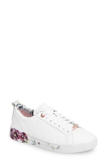 Women's Ted Baker London Barrica Sneaker M - White