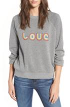 Women's Rebecca Minkoff Love Sweatshirt, Size - Grey