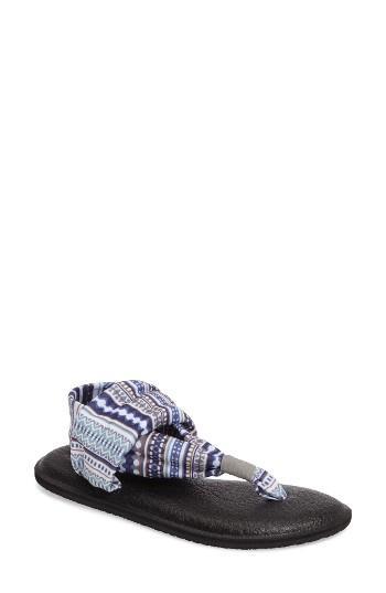 Women's Sanuk 'yoga Sling 2' Sandal M - Blue