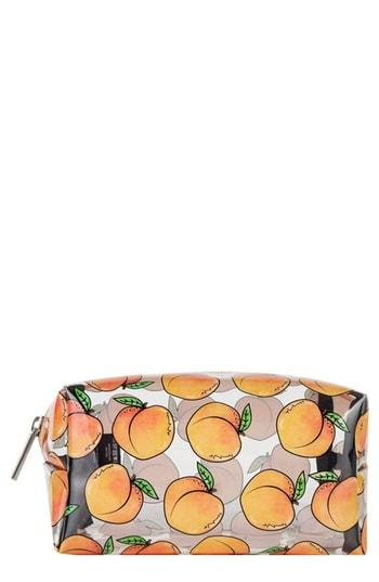Skinny Dip Peachy Clear Makeup Bag, Size - No Color