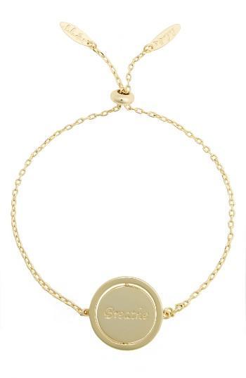Women's Lulu Dk Small Spinning Pendant Bracelet