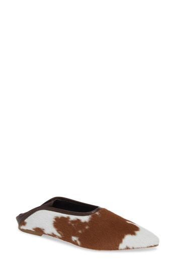 Women's Trademark Baez Convertible Genuine Calf Hair Flat .5us / 38.5eu - Brown
