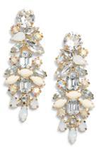 Women's Stella + Ruby Mini Dynasty Crystal Drop Earrings