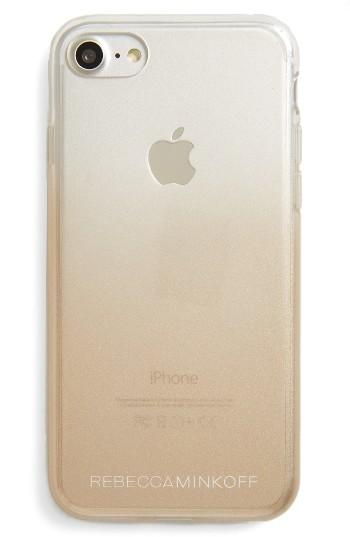 Rebecca Minkoff Metal Ombre Iphone 7 Case - Metallic