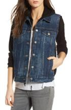 Women's Bailey 44 Jacking Mixed Media Jacket - Black