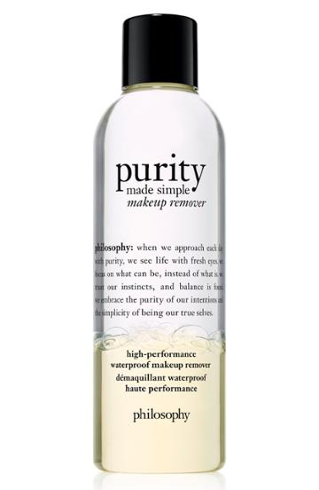 Philosophy Purity Made Simple High-performance Waterproof Makeup Remover .4 Oz