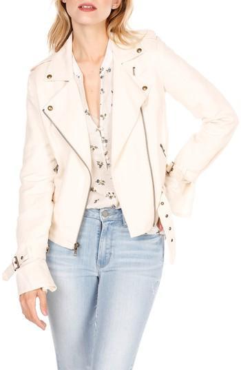 Women's Paige Rhoda Moto Jacket - Pink