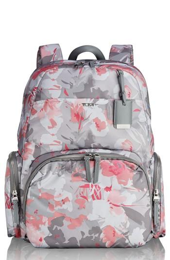 Tumi Stanton Orion Coated Canvas Backpack - Grey