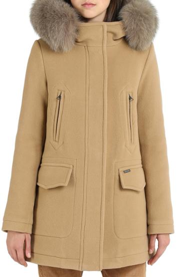 Women's Sosken Gloria Wool & Cashmere Coat - Blue