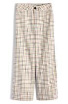 Women's Madewell Emmett Wide Leg Crop Pants - White