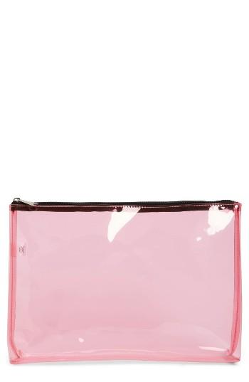 Bp. Transparent Clutch - Pink