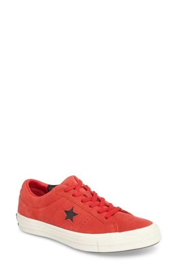 Women's Converse Chuck Taylor All Star One Star Low-top Sneaker M - Red