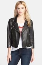 Women's Rebecca Minkoff Wes Neoprene Panel Moto Jacket