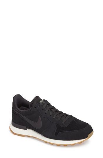 Women's Nike Internationalist Se Sneaker .5 M - Black