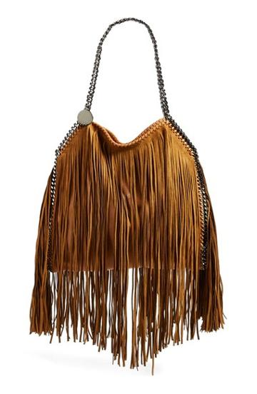 Women's Stella Mccartney 'small Falabella' Fringe Tote -