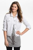 Women's Two By Vince Camuto Denim Jacket - White